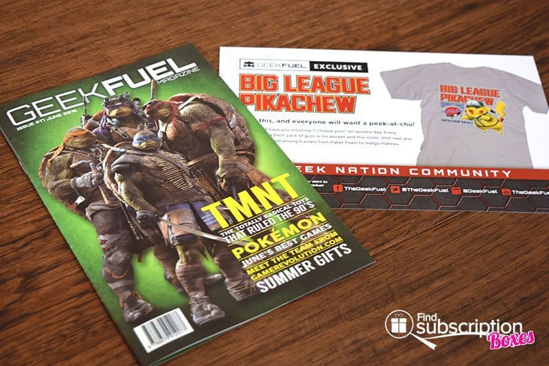 June 2016 Geek Fuel Review - Magazine & Cards