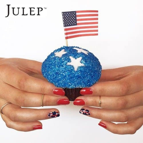 Julep Maven Nail Art Inspiration - Stars and Stripes