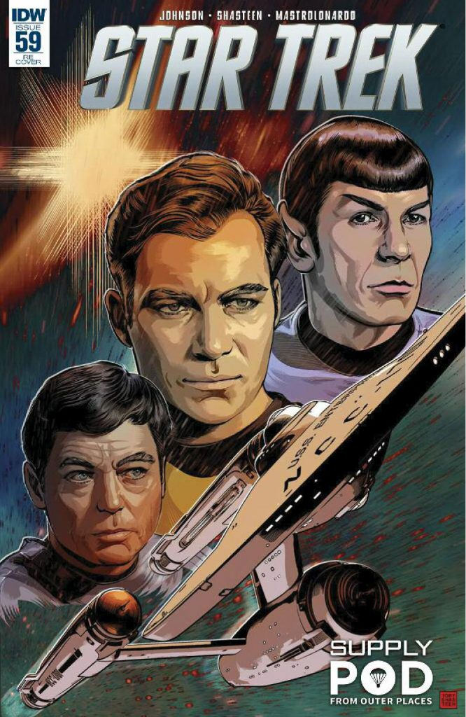 July/August 2016 Supply Pod Box Spoiler - IDW Star Trek Comic