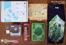 June 2016 Nerd Block Classic Review - Box Contents