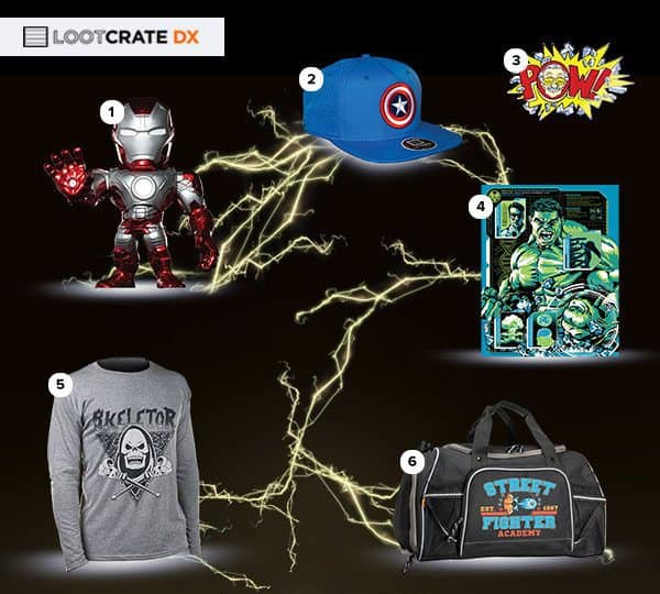 May 2016 Loot Crate DX Box Reveal