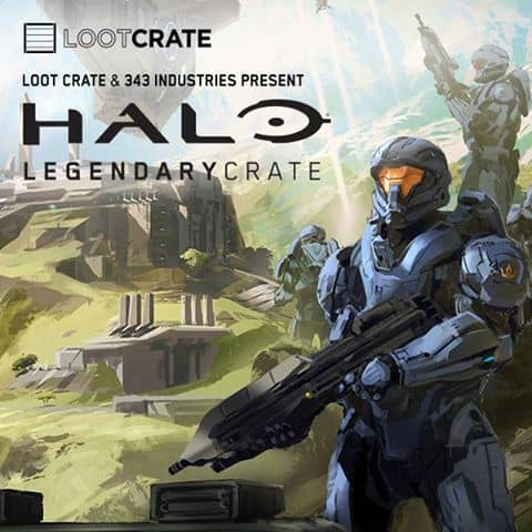 Loot Crate Halo Legendary Crate