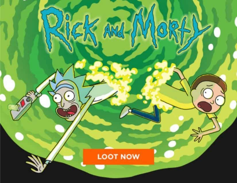 Loot Crate July 2016 Box Spoiler - Rick and Morty