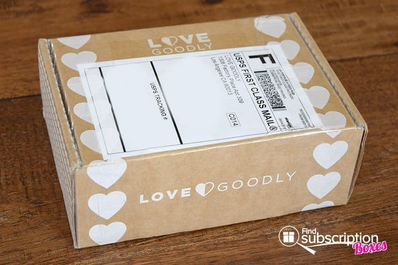 June-July 2016 LOVE GOODLY Review - Box