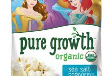 Love With Food July 2016 Box Spoiler - Pure Growth Organic Popcorn
