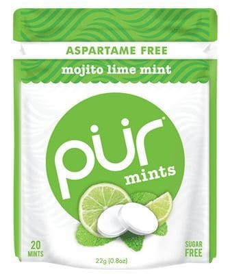 Love With Food July 2016 Box Spoiler - Pur Mints