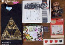 May 2016 Arcade Block Review - Box Contents