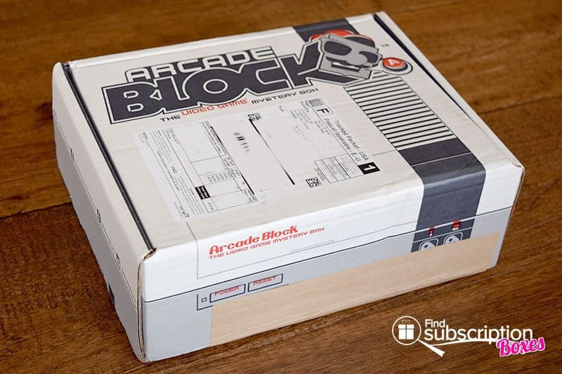 May 2016 Arcade Block Review - Box
