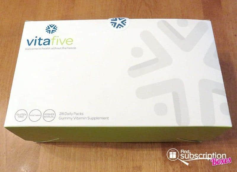 May 2016 Vitafive Review - Box