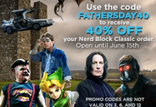 Nerd Block 40% Off Coupon
