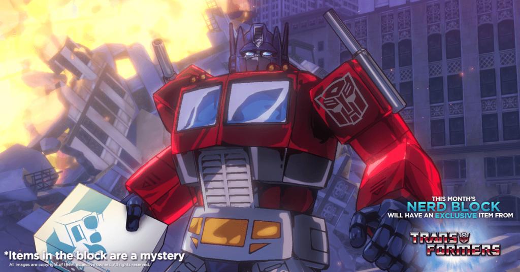 Nerd Block July 2016 Classic Block Box Spoiler - Transformers