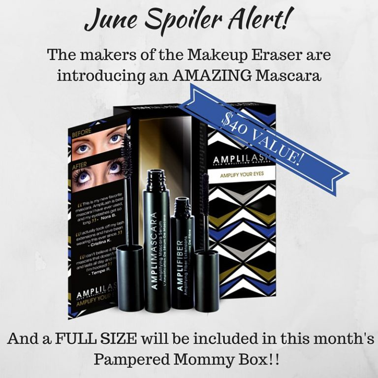 Pampmered Mommy Box June 2016 Box Spoiler - AmpliLash