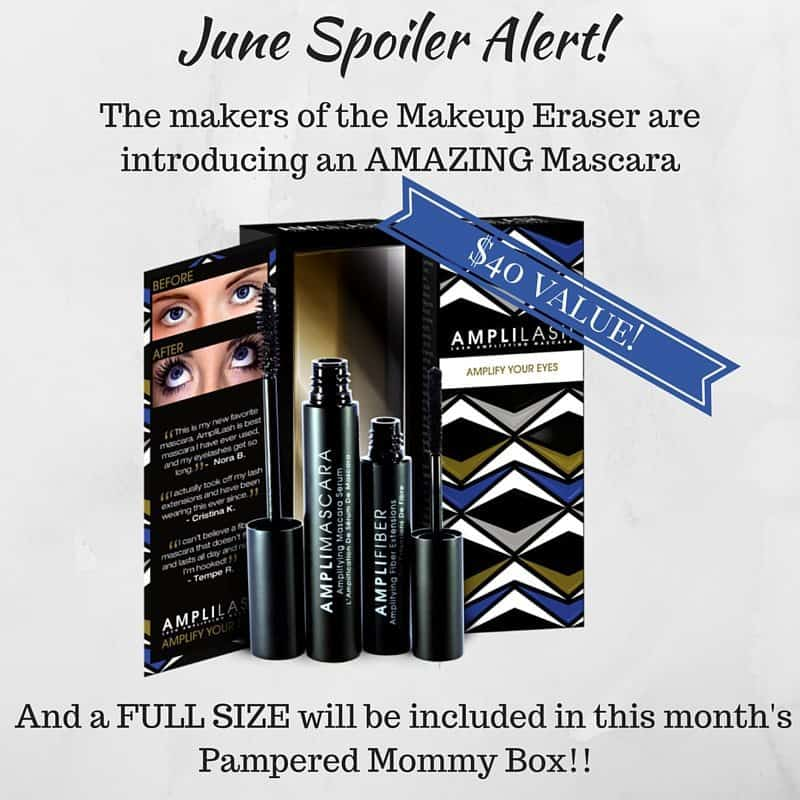 June 2016 Pampered Mommy Box Spoiler - AmpliLash