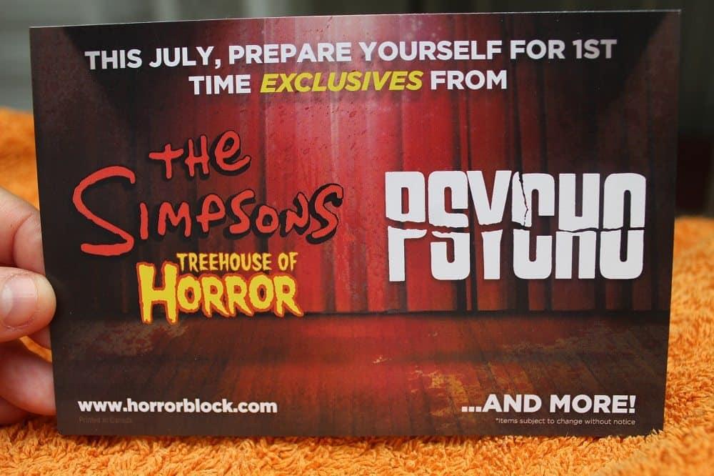 Horror Block June 2016 Review