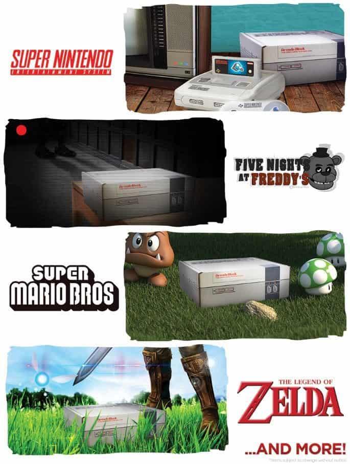 Arcade Block August 2016 Box Spoilers