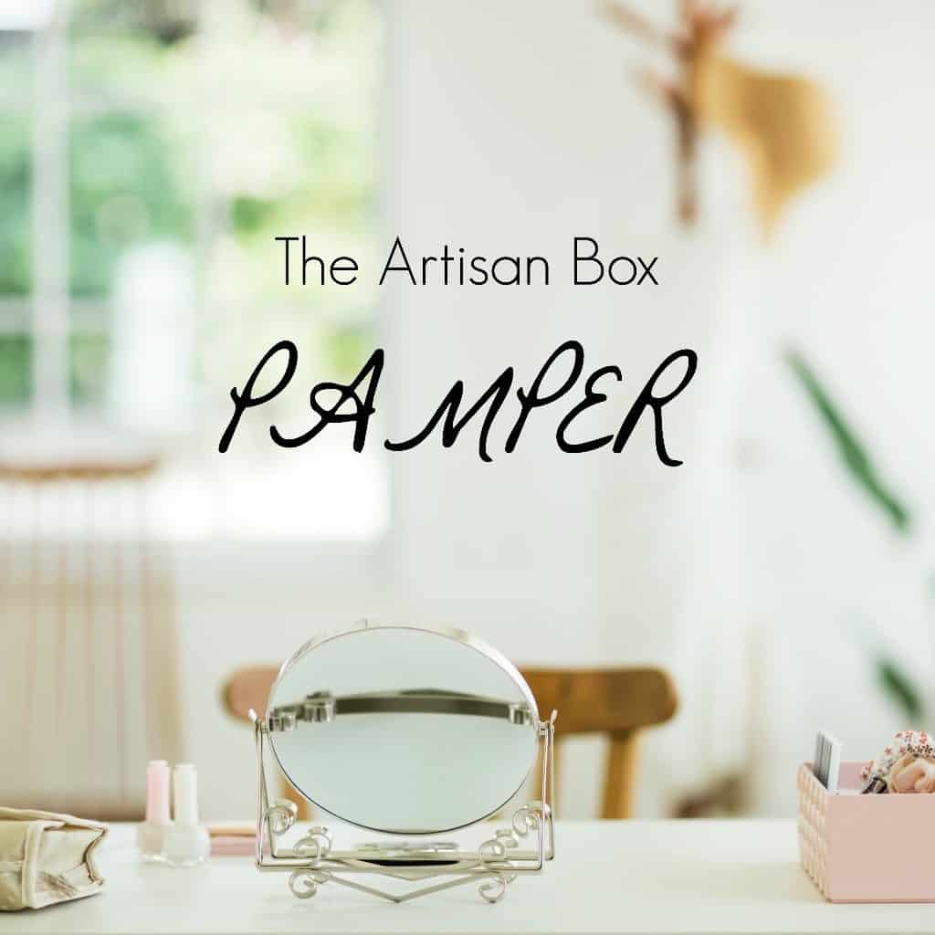 GlobeIn August 2016 Artisan Gift Box Theme - Pamper
