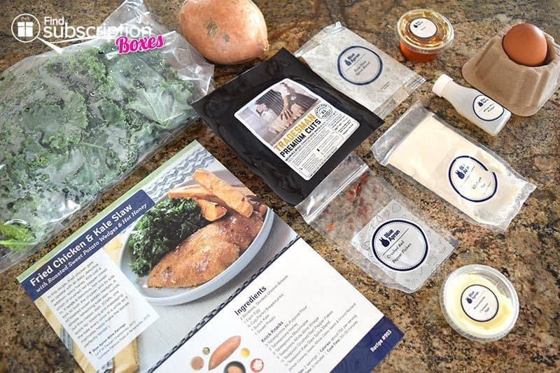Blue Apron June 2016 Review - Fried Chicken