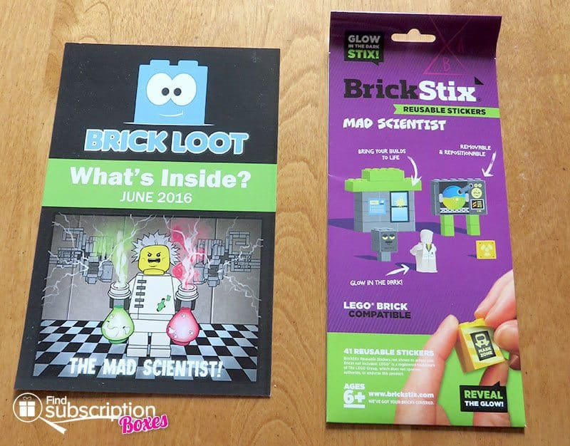 Brick Loot June 2016 Review - Brick Stix