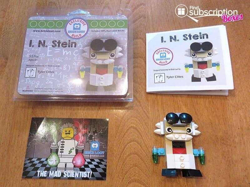 Brick Loot June 2016 Review - I.N. Stein