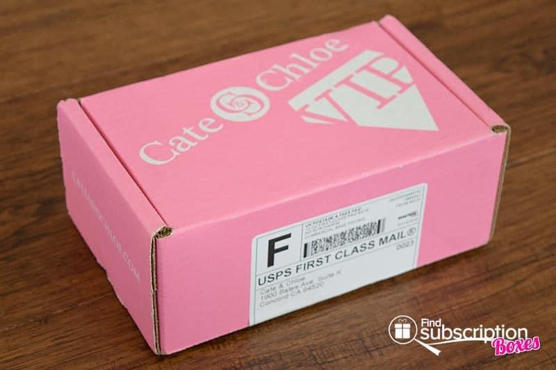 Cate & Chloe August 2016 VIP Box Review - Box