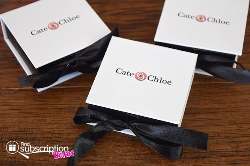 Cate & Chloe August 2016 VIP Box Review - Jewelry Boxes
