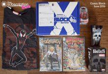 Comic Block June 2016 Box Review - Box Contents