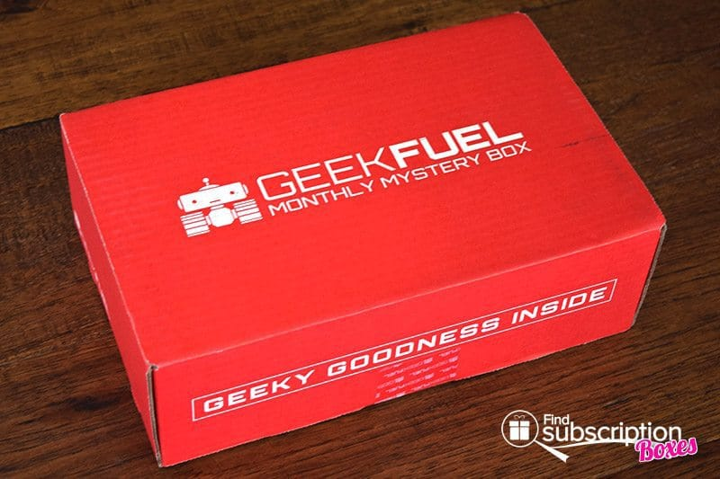 July 2016 Geek Fuel Review - Box