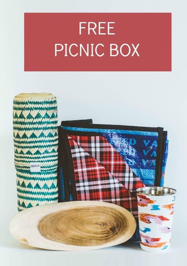 GlobeIn Free Picnic Box