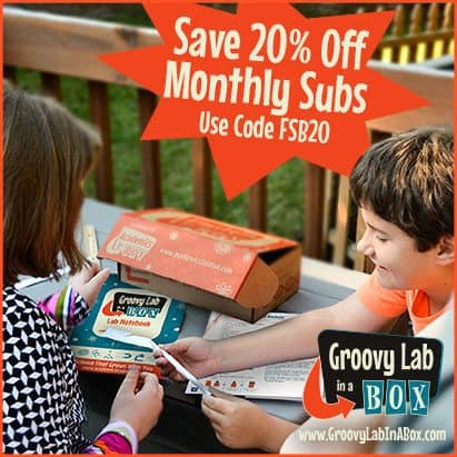 Exclusive Groovy Lab in A Box Coupon - 20% Off