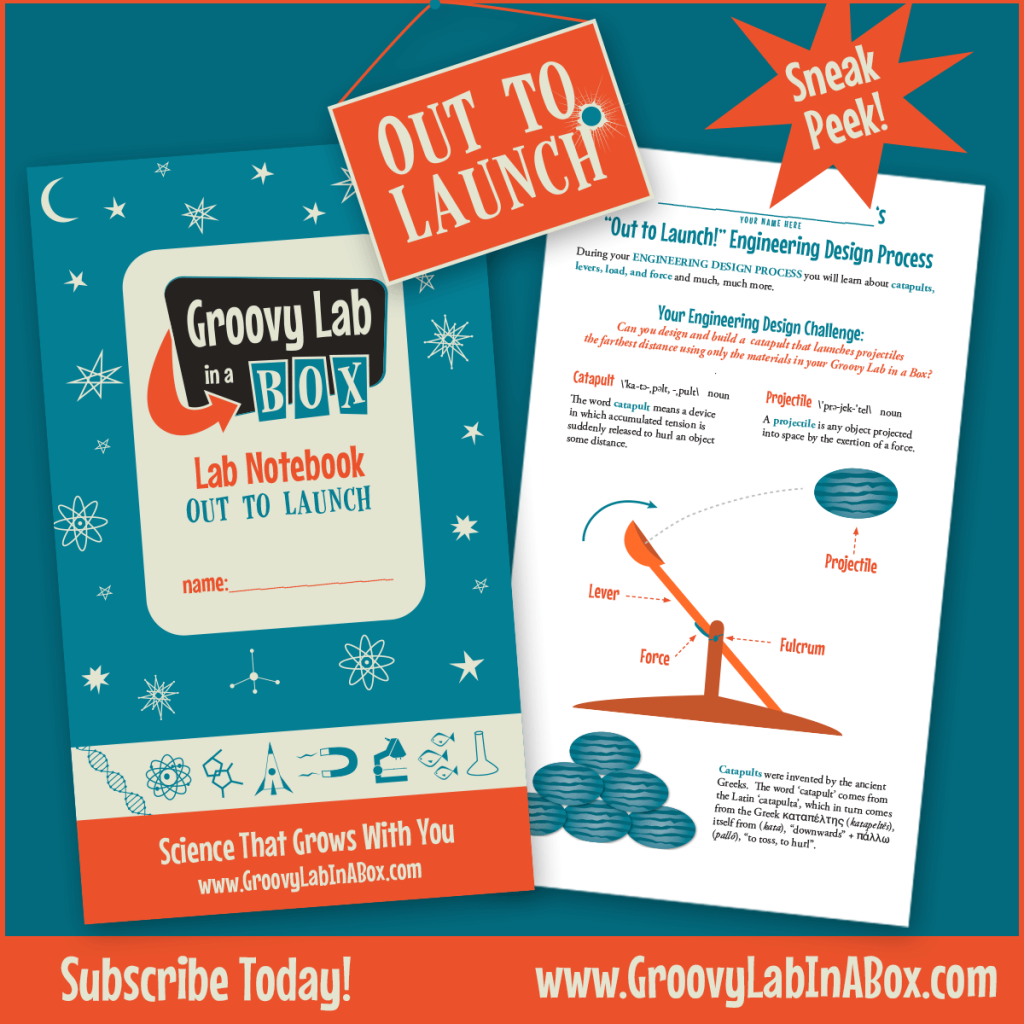 Groovy Lab in a Box July 2016 Out to Launch