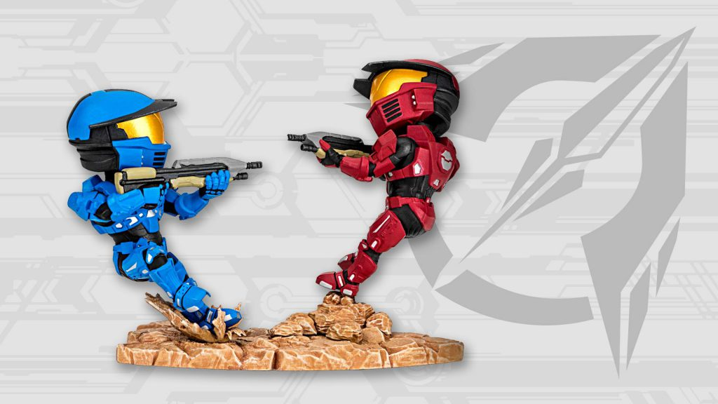 Loot Crate Halo Legendary Crate August 2016 Box Spoilers - Halo Icon Figures