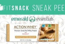 July 2016 Fit Snack Box Spoilers - Emerald Essentials