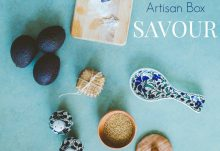 July 2016 GlobeIn Artisan Gift Box Theme - Savour