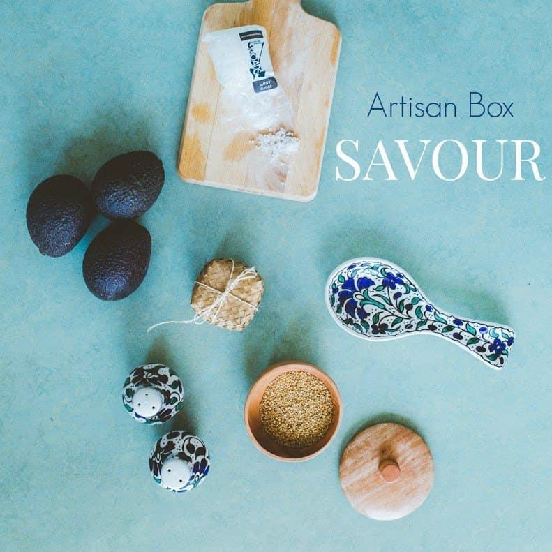 GlobeIn July 2016 Artisan Savour Box Theme