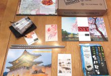 Kitchen Table Passport July 2016 Review - Korea - Box Contents