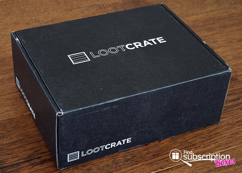July 2016 Loot Crate Review - Futuristic Crate - Box