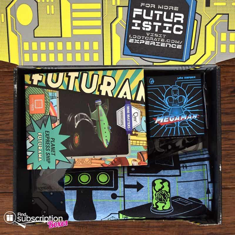 July 2016 Loot Crate Review - Futuristic Crate - First Look