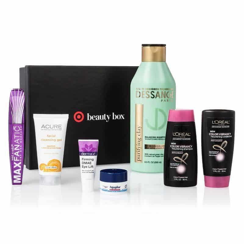 July 2016 Target Beauty Box - Fresh & Fabulous