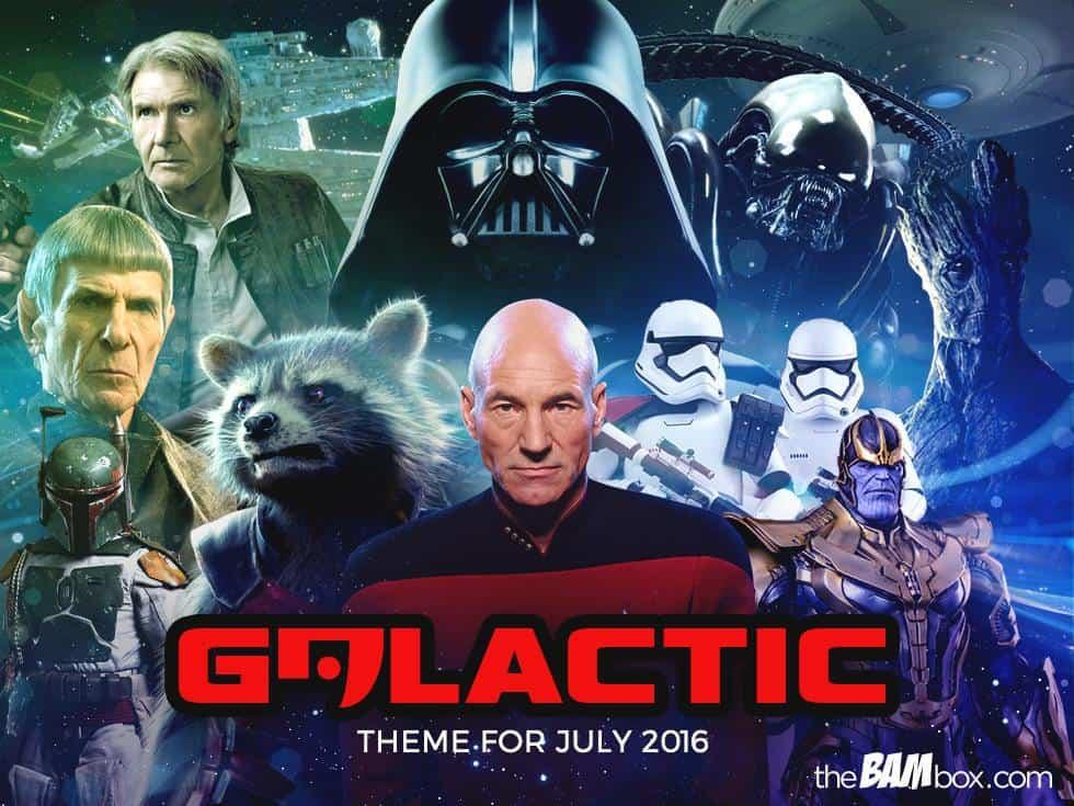 The Bam Box July 2016 Theme