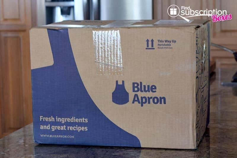 Blue Apron June 2016 Review - Box