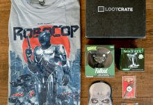 June 2016 Loot Crate Review - Dystopia Crate - Box Contents