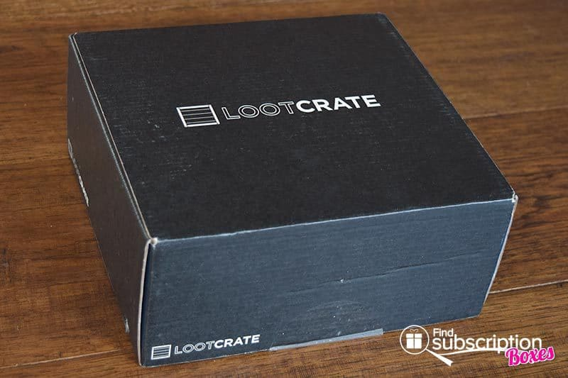 June 2016 Loot Crate Review - Dystopia Crate - Box