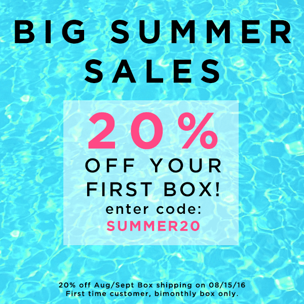 Save 20% Off Your 1st LOVE GOODLY Box