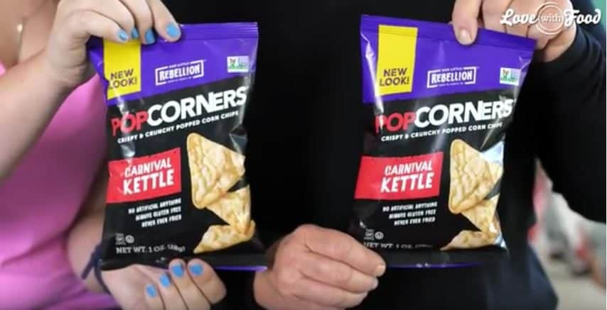Love With Food August 2016 Box Spoiler - Popcorners Carnival Kettle