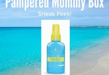 Pampered Mommy Box July 2016 Box Spoiler - Macadamia Professional Dry Oil