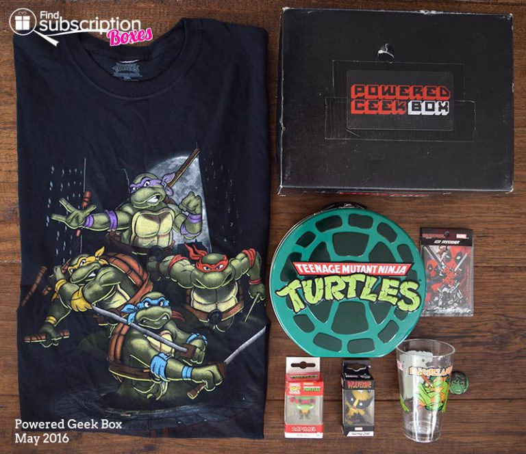 Powered Geek Box May 2016 Box Review - Box Contents