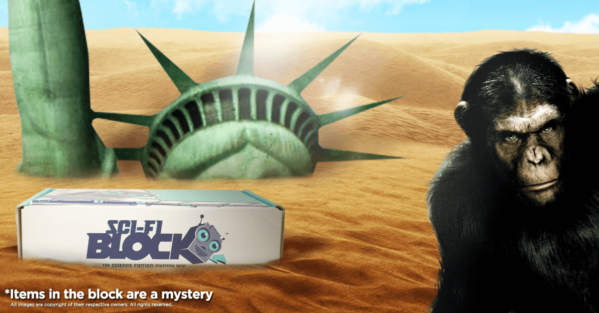 Sci-Fi Block August 2016 Box Spoiler - Planet of the Apes