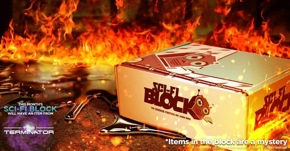 Sci-Fi Block August 2016 Box Spoiler - The Terminator