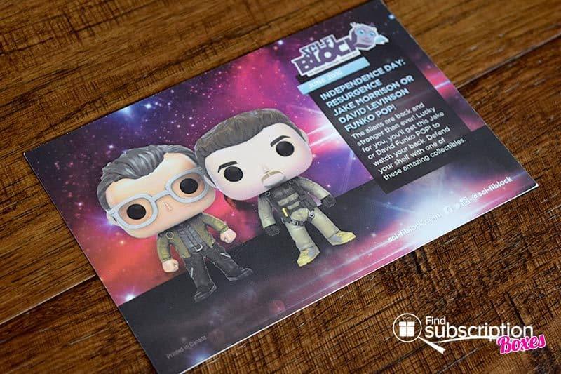 Sci-Fi Block Review - June 2016 - Product Card