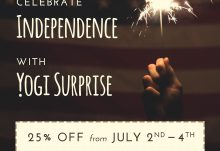Yogi Surprise 4th of July Sale